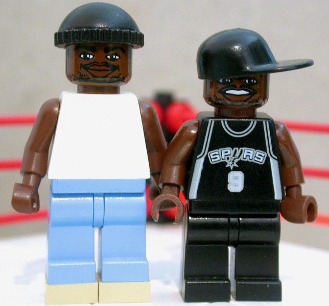 Wwe Superstars In Lego